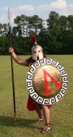 Spartan Hoplite Warrior