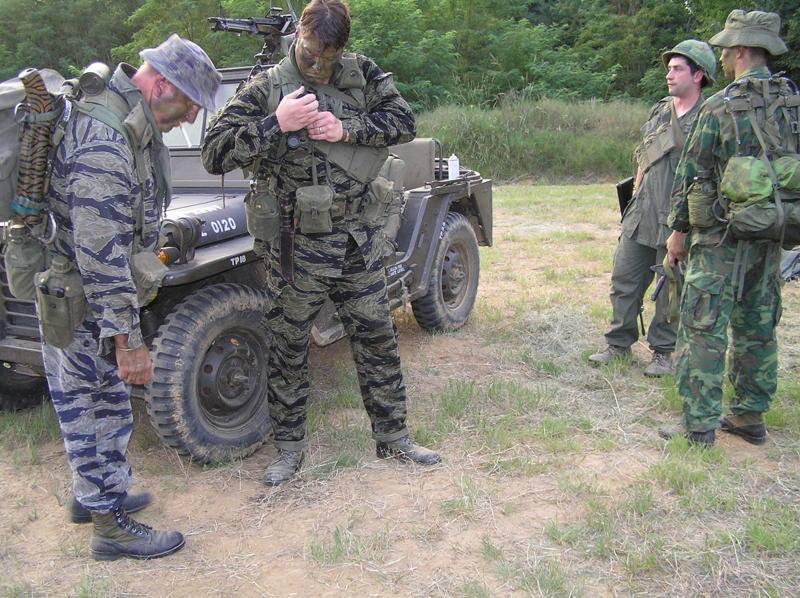 Vietnam reenacting
