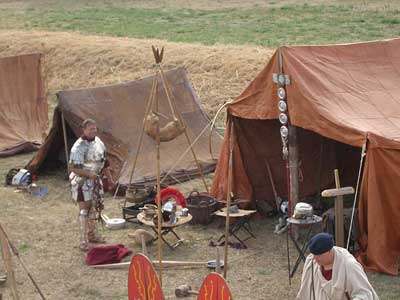 LEGIO XIIII camp at Lafe AD43 event 2006!
