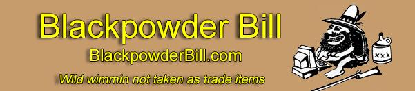 banner for Blackpowder Bill's MuzzleLoaders
